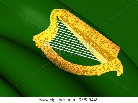 Flag Of Leinster Province, Ireland.