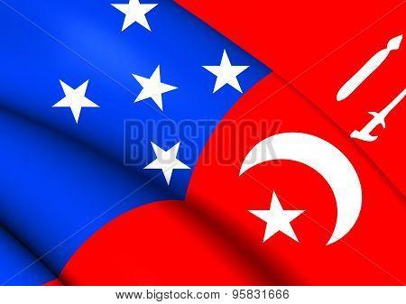 War Flag Of Sulu Sultanate