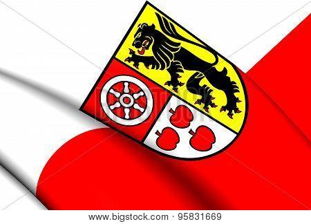 Flag Of Weimarer Land, Germany.