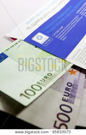Ax Free Envelope With Thousands Of Eur