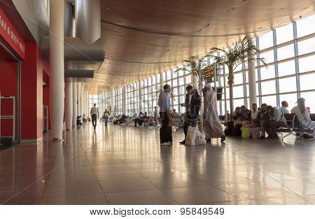 Alexandria, Egypt - October 20, 2014 Borg El Arab Airport