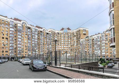 Buildings in Kiev, Ukraine