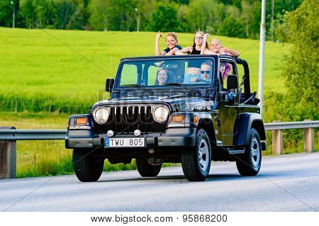 Jeep Wrangler 2002 Black