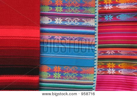 Three Indian Blankets