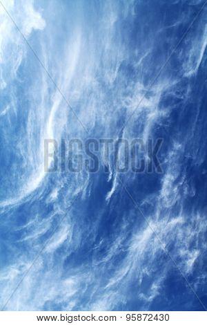 the sky as the sea