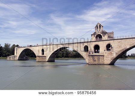 He Pont Saint-benezet, Especially Known Pont D Avignon
