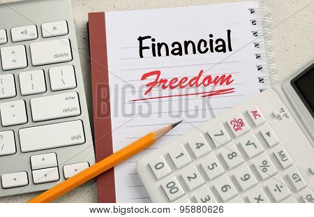 concept of financial freedom