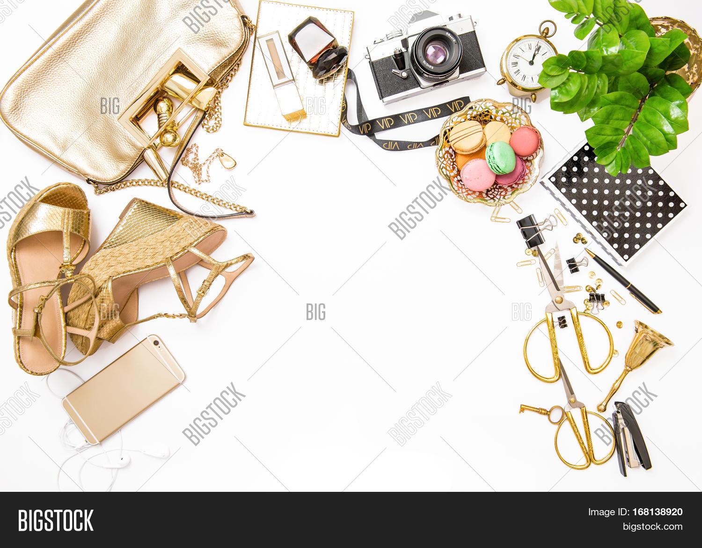 Fashion Flat Lay Web Image Photo Free Trial Bigstock