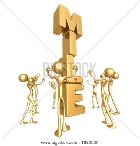 Team Reaching Golden Miletsone