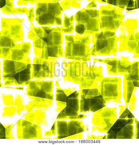 Lighting sparkle lighting modern gold yellow cubic pattern background