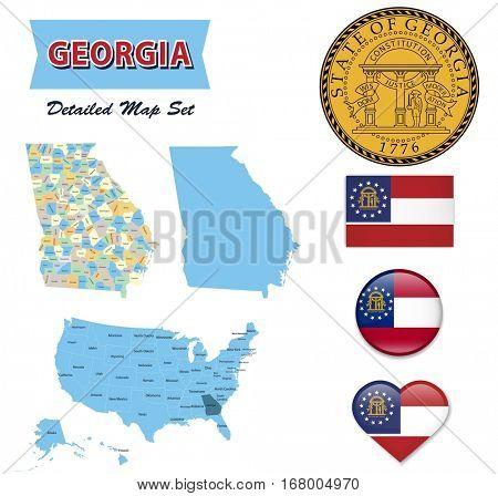 Georgia State Set