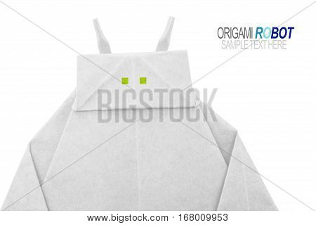 Paper Origami Robot