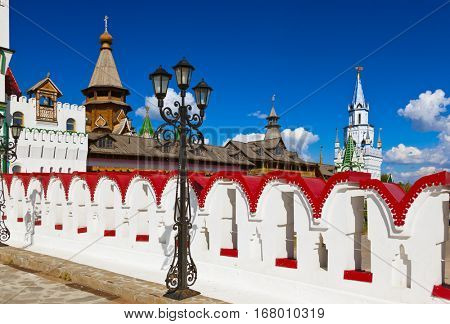 Izmailovo Kremlin - Moscow Russian - architecture background