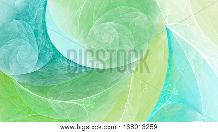 Silk scarf patterns. Swirling spiral. 3D surreal illustration. Sacred geometry. Mysterious psychedelic relaxation pattern. Fractal abstract texture. Digital artwork graphic astrology magic