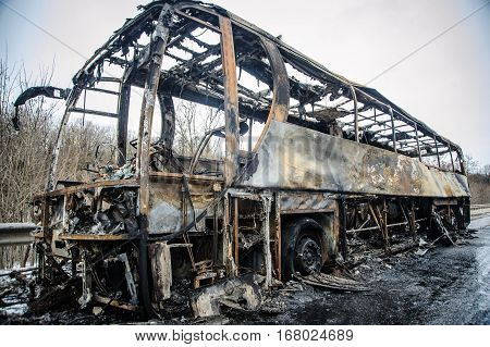 Bus After Fire