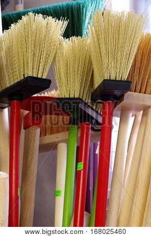 Brooms new cleaning products group objects tools