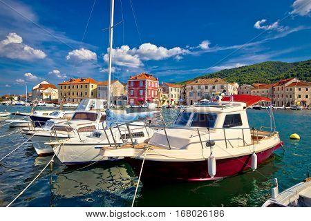 Town Of Starigrad On Hvar Island