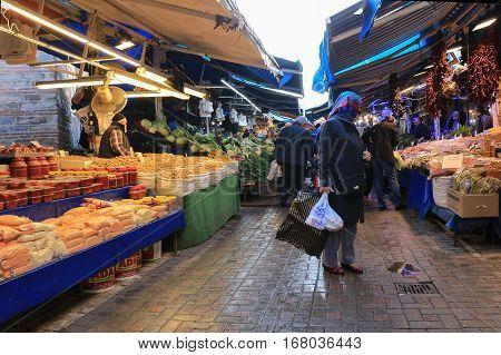 Bursa Outdoor Food Market