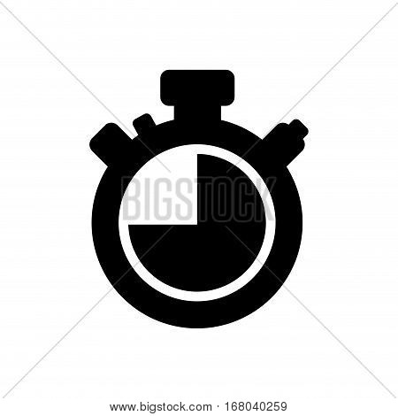 Timer chronometer isolated icon vector illustration graphic design
