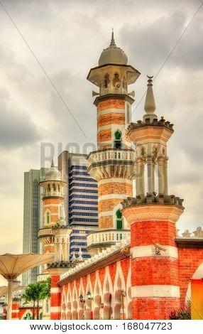Masjid Jamek, one of the oldest mosques in Kuala Lumpur - Malaysia
