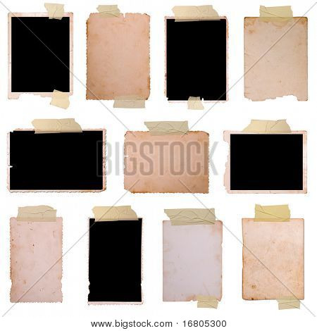 Vintage photo frames set 3, big collection