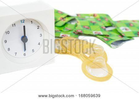 Condom And Clock