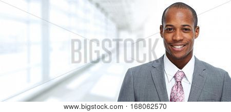 African-American businessman.