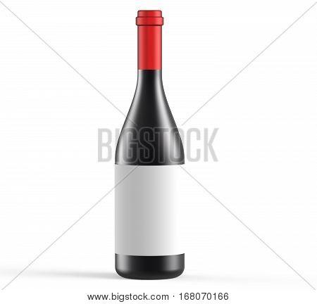 Opaque Wine Bottle