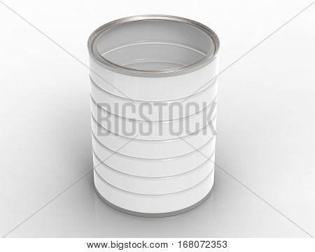 Blank Metal Can