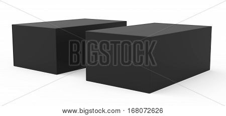 Two Blank Template Boxes
