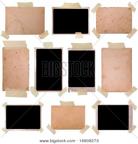 Vintage photo frames set 6, big collection