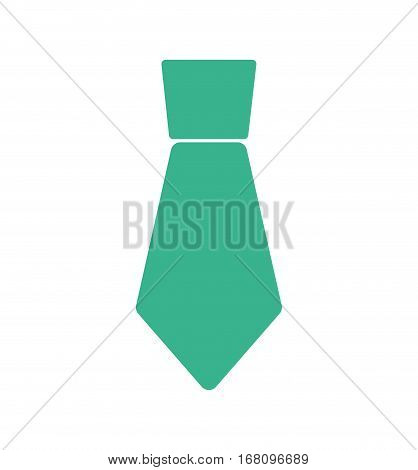 green necktie man father day vector illustration eps 10
