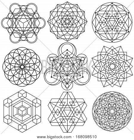 004 Sacred Geometry Symbols