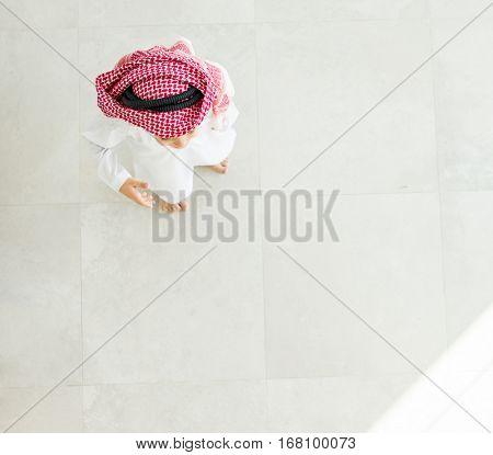 Cute Arabic kid