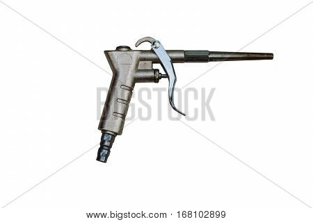 AIR NOZZLE AIR BLOW GUN isolate, industry