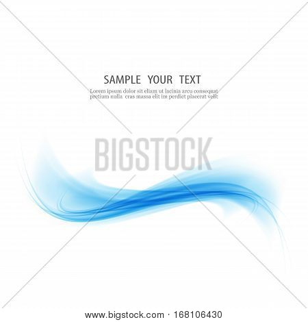 Vector awesome abstract blue backgrounds.Blue abstract wave design Element