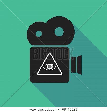 Long Shadow Cinema Camera With An All Seeing Eye