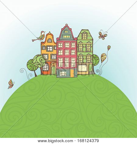 Houses On The Earth.