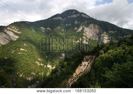 In The Mountains Of Abkhazia