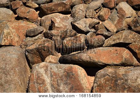 Stone Wall Exterior backdrop at golf course.