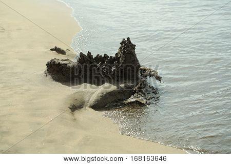 Beautiful Drip Sandcastle
