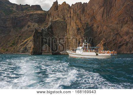 Island Golden Gate In The  Crimea