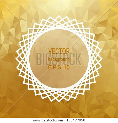 Abstract light template background. Eps 10 vector illustration.