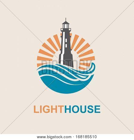 9 Beautiful Lighthouse Logos  Free amp Premium Templates