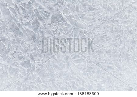 Texture Of Ice And Snow