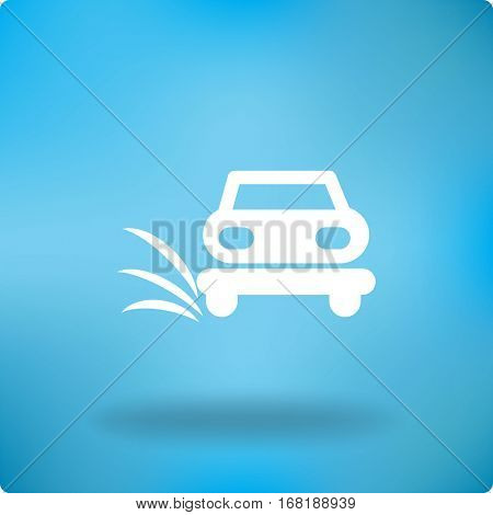 Car service, auto repair. car icon