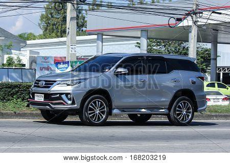 Private Suv Car, Toyota Fortuner.