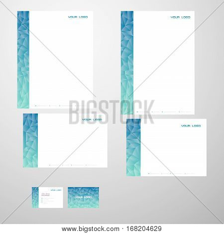 Beatiful modern fresh print ready stationary An Identity Pack for your business..Vector 100% - Editable and Resizable CMYK - Print and Web Ready | 300 DPI Easy to edit color and text