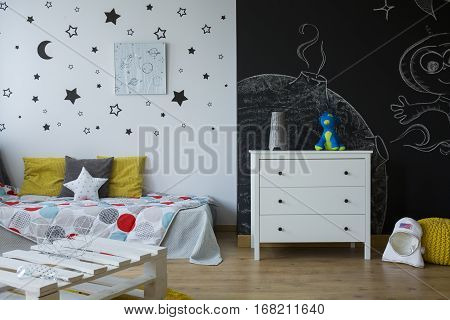 Child Room With Commode