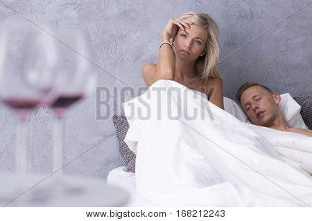 Woman And Man After First Night Together